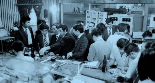 L'apéro au Japon, c'est saké