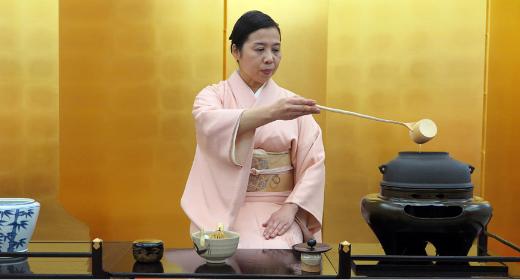 Pourquoi la cérémonie du thé au Japon est un art total