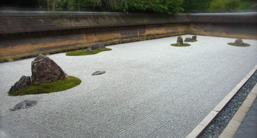 Kyôto : Le Ryôanji et son célébrissime jardin zen