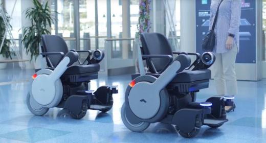 Le Japon teste les fauteuils autonomes dans un de ses aéroports