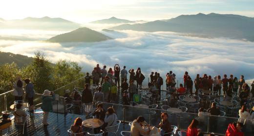 Marcher sur les nuages… Une expérience à vivre au Japon