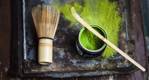 Le thé matcha : remède anti-pollution pour la peau ?