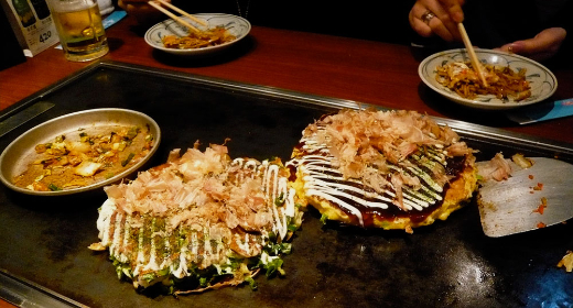 Okonomiyaki : une recette venue d'Osaka
