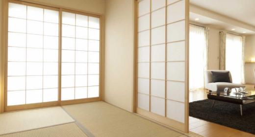 Les panneaux coulissants japonais
