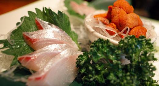 Régime à base de cuisine japonaise