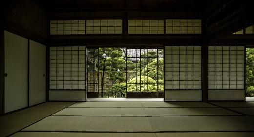 Le shoji dans la maison traditionnelle du Japon