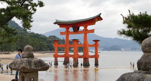 Le Torii flottant de Mayajima