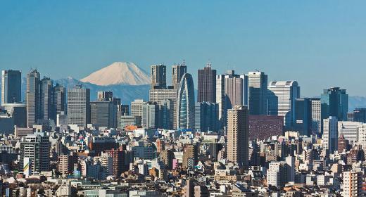 Architecture de la ville de Tokyo